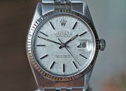 Rolex Datejust Stainless Steel Silver Linen Dial 36mm Ref. 16014