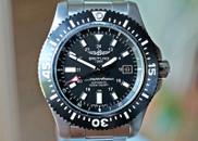 Breitling Superocean 44 Special Black Dial & Bezel on Steel Bracelet 44mm