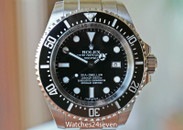 Rolex Deepsea Sea-Dweller Ceramic Bezel Black Dial 44MM Ref. 116660