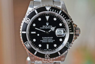 Rolex Submariner Automatic Date Steel 40mm Ref. 16610 ON HOLD