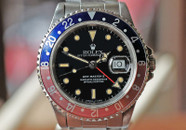 Rolex GMT Master II Automatic Date Blue & Red Bezel 40mm Ref. 16710