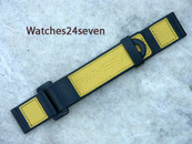 Panerai OEM Velcro Yellow Coramid 24/24 mm standard length: $250 USD