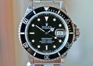 Rolex Submariner Automatic Date Steel 40mm Ref. 168000