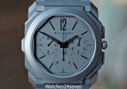 Bulgari Octo Finissimo Chronograph GMT Ultra Thin Grey Titanium 40mm