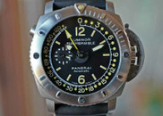 Panerai PAM 193 Submersible 1950 Depth Gauge Titanium 47mm