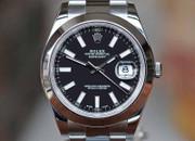 Rolex Datejust 41 Steel Oyster Bracelet Black Stick Dial 41mm Ref. 116300