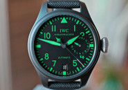 IWC Big Pilot Top Gun Ceramic w Green Boutique LTD 48mm