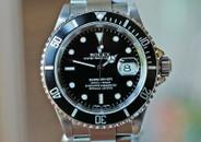 Rolex Submariner Steel Black Dial & Aluminum Bezel Insert 40mm Ref. 16610