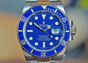 Rolex Submariner Two Tone Blue Dial Ceramic Dial 40mm Ref. 116613