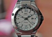 IWC Ingenieur  Dual Time Titanium Grey Dial 45mm