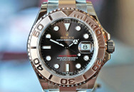 Rolex Yachtmaster Two Tone Everose, Chocolate Dial 40mm Ref. 126621