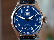 IWC Big Pilot Big Date 8 Days Blue Dial 150th Anniversary LTD 46mm