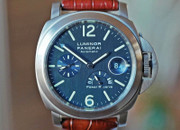 Panerai PAM 93 Luminor Marina Power Reserve Slate Blue Dial 44mm