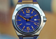 IWC Engenieur Plastiki Mission Earth LTD Blue & Orange 46mm