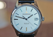 Jaeger LeCoultre Geophyic True Seconds Silver Dial Steel 39.6mm