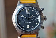 Panerai PAM 008 Mare Nostrum Chronograph Black T Dial 42mm