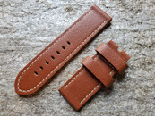 PANERAI OEM DIVE STRAP CALF VINTAGE GOLD FOR TANG BUCKLE 26MM