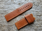 PANERAI OEM DIVE STRAP CALF GOLD FOR TANG BUCKLE 26MM