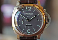 Panerai PAM 289 Luminor GMT 8 Daya 1950 Rose Gold Case 44 mm