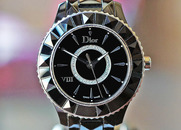 Dior VIII Automatic Diamond Black Dial Ceramic 38mm on Bracelet