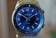 Jeager LeCoultre Polaris Automatic Blue Dial Steel on Bracelet 41mm