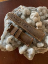 PANERAI OEM DIVE STRAP CALF ASSOLUTAMENTE DARK BROWN FOR TANG BUCKLE 26MM/22