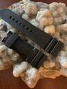 PANERAI OEM DIVE STRAP CAUTCHOUC BLACK FOR TANG BUCKLE 26MM/22