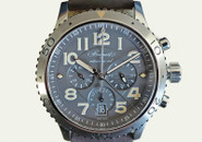 Breguet Type XXI Flyback Automatic Date Slate Grey Dial 42mm