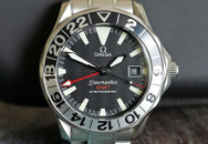 Omega Seamaster GMT 50th Anniversary Black Wave Dial 41mm ON HOLD