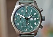 IWC Pilot Spitfire Chronograph Bronze w Dark Green Dial 41mm