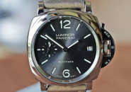 Panerai PAM 755 Piccolo Due Auto Date Anthracite Dial Steel 38mm ON HOLD