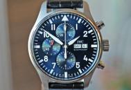 IWC Chronograph Calendar Petite Prince LTD Midnight Blue 43mm
