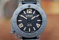 U-Boat U-42 Automatic Titanium Black Dial LTD 53mm Ref. 6157