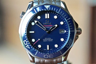 Omega Seamaster Professional 300m Co Axial Blue Dial 41mm