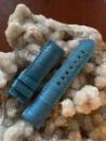 PANERAI OEM STRAP ALLIGATOR SEMI MATT LIGHT BLUE 22MM/20 TANG BUCKEL 115/75