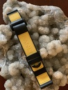 PANERAI OEM RUBBER CORAMID DIVE STRAP BLACK AND YELLOW 22MM 215/32