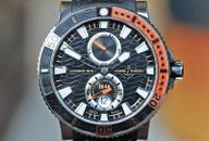 Ulysse Nardin Maxi Marine Titanium Diver Black & Orange 45mm Ref. 263-90
