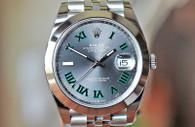 Rolex Datejust 41 Steel Wimbledon Jubilee Bracelet 41mm Ref. 126300