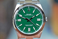 Rolex Oyster Perpetual 41 Green Dial Steel 41mm Ref. 124300 ON HOLD