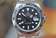 Rolex Explorer II GMT Black Dial Steel 42mm Ref. 216570