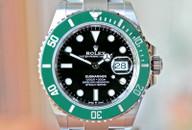 Rolex Submariner Black Dial Green Bezel Steel 40mm Ref. 126610LV