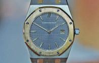 Audemars Piguet Royal Oak Quartz Grey Dial Steel & Yellow Gold 33mm