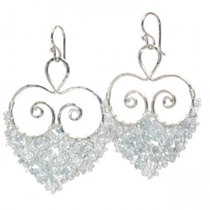 Custom Crystal Chandelier Earrings