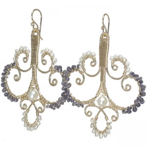 French Crystal Chandelier Earrings - Customizable
