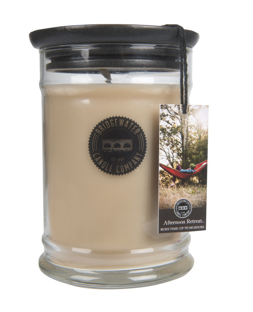 18oz Large Jar Candle-Afternoon Retreat