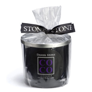 COCO Lavender Candle Black
