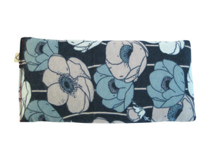"Unscented FLAX Eye Pillow ""Poppies"""