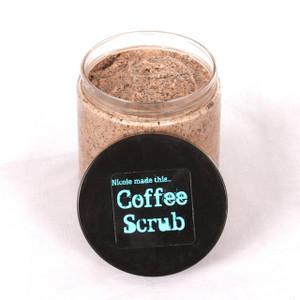 """Coffee Face Scrub, """"Creamy Coffee Luxury Scrub""""-8oz by Volume"""