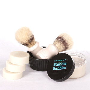 Stubble Bubble Shaving Soaps-3 Pack