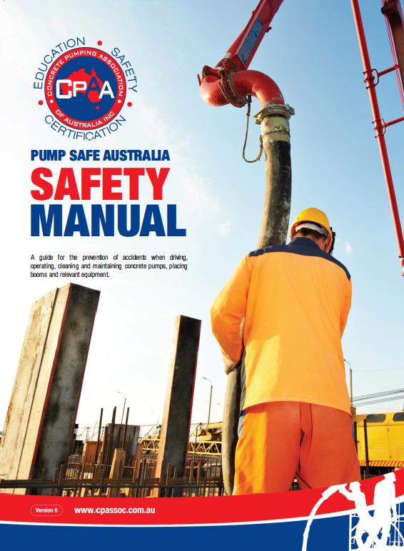 Safety Manual Concrete Pumping Association Of Australia